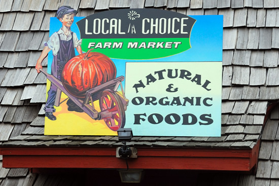 Local Choice Roof Sign