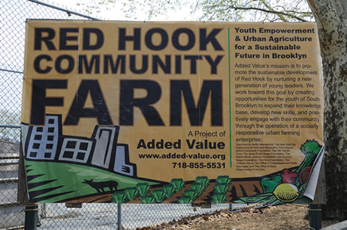 Red Hook Community Farm Poster